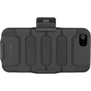 Macally Carrying Case (Holster) for iPhone - Black