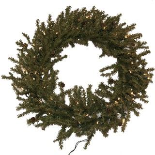 Tannenbaum Pre-lit Wreath (30-inch)