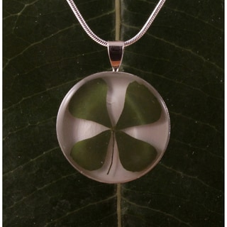 Four-Leaf Clover Necklace (Mexico)