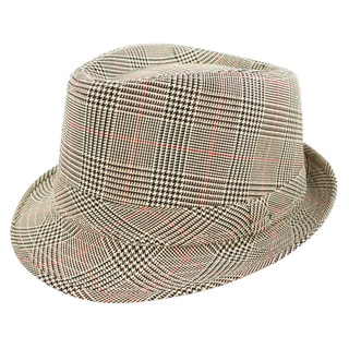 Faddism Fashion Tan Fedora Hat