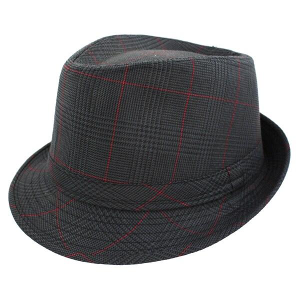 Faddism Fashion Black Fedora Hat
