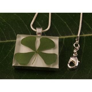 Square Four-leaf Clover Necklace (Mexico)