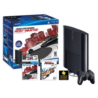 PS3 - Sony Playstation 3 250GB Bundle with Need for Speed Most Wanted & Burnout Pardise