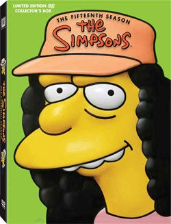 The Simpsons: The Complete Fifteenth Season: Molded Head (DVD)