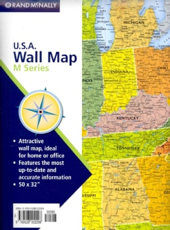 Rand McNally U.S.A. Wall Map (Sheet map)