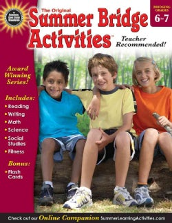 Summer Bridge Activities: Bridging Grades 6 to 7 (Paperback)