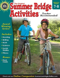 Summer Bridge Activities 7-8: Bridging Grades Seventh to Eighth (Paperback)