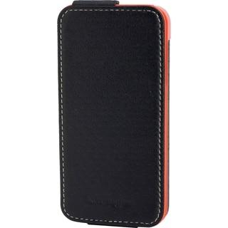 Kensington Portafolio Carrying Case (Flip) for iPhone - Black, Orange