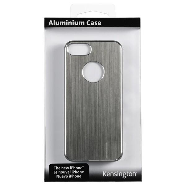 Kensington Aluminum Finish Case for iPhone 5 - Grey