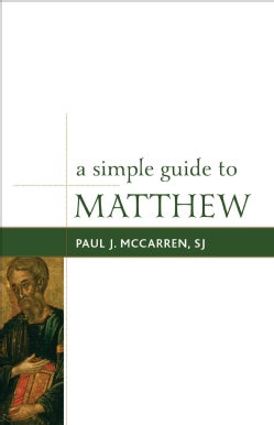 A Simple Guide to Matthew (Hardcover)
