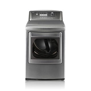 LG 'DLGX5102V' 7.3 Cu. ft. Ultra-large Capacity  Graphite Steel SteamDryer