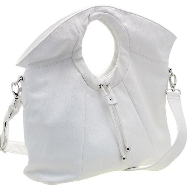 Dasein Satchel Bag with Shoulder Strap