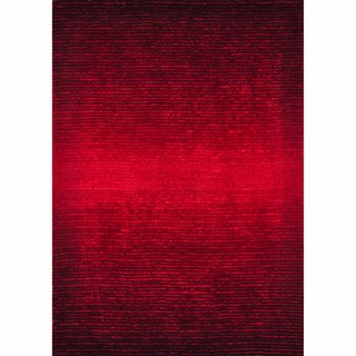 Hand Tufted Josephine Red Rug (9'3 x 13')