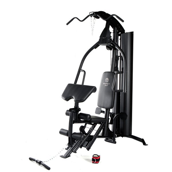 Marcy Fit 150-pound Stack Gym with Upright Leg Press