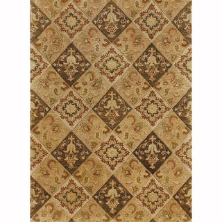 Handtufted Ferring Multi Wool Rug (5' x 7'6)