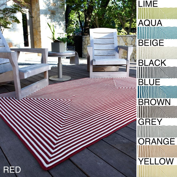 Hand-braided Cromwell Indoor/Outdoor Rug (7'6 x 9'6)