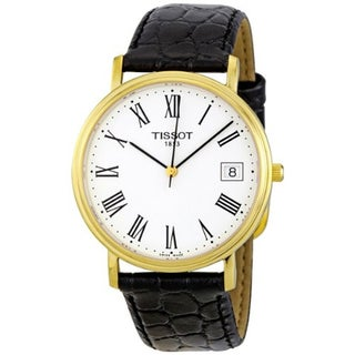 Tissot Men's T52.5.421.13 'Desire' Goldtone Classic Watch