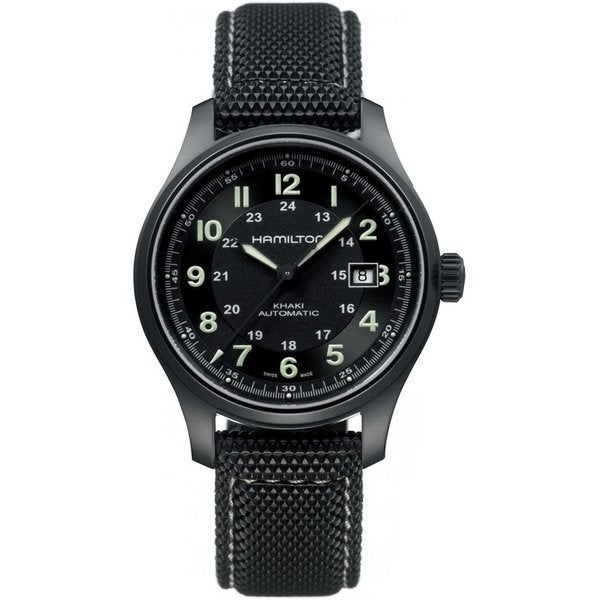 Hamilton Men's HML Automatic Khaki Field Watch