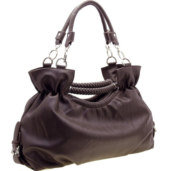 Dasein Designer Inspired Double Handle Shoulder Bag