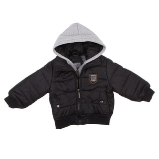 Calvin Klein Boy's Toddler Double Zip Hooded Jacket