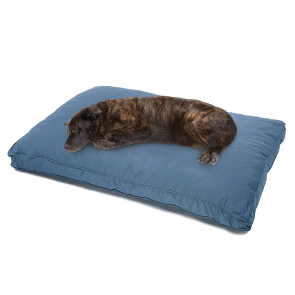 Sweet Dreams Blue Indoor/ Outdoor Corded Sunbrella Fabric Pet Bed