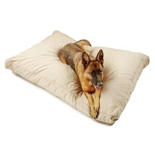 Sweet Dreams Beige Indoor/ Outdoor Corded Sunbrella Fabric Pet Bed