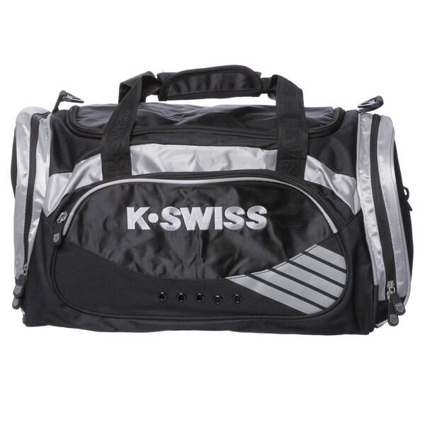 K-Swiss Medium 18-inch Training Carry On Duffel Bag