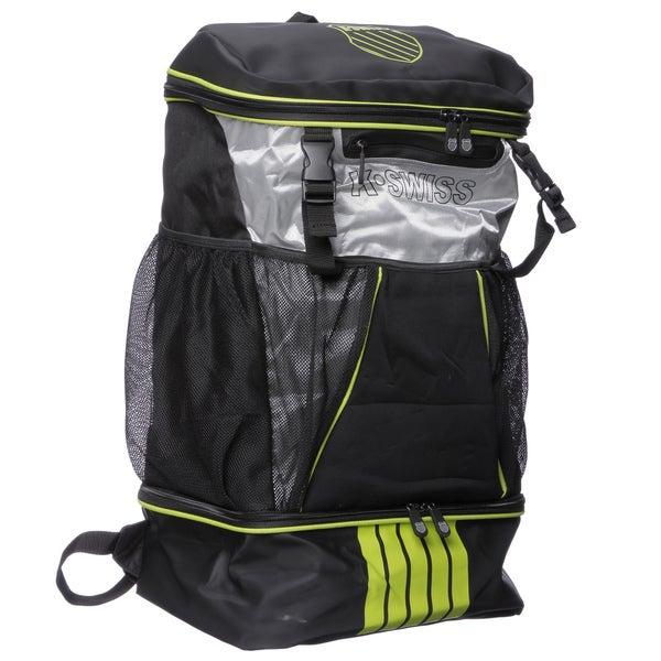 K Swiss KS60187-000-BKA 19-inch 'Transition' Black/ Yellow Backpack