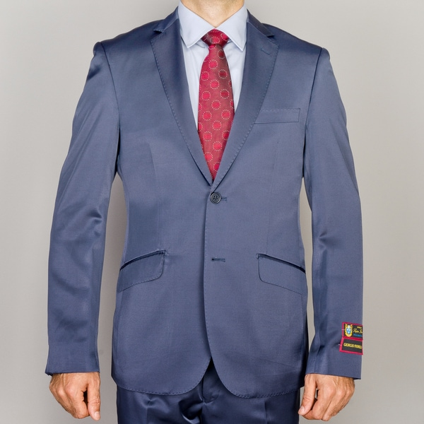 Amazoncom Customer reviews Figlio Lontano Slim Fit Suit