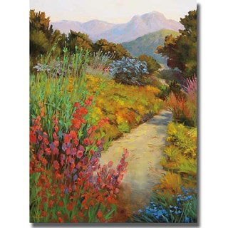 Ellie Freudenstein 'Garden Path' Canvas Art