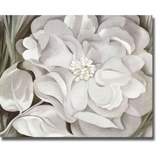 Georgia O'Keeffe 'The White Calico Flower' Canvas Art