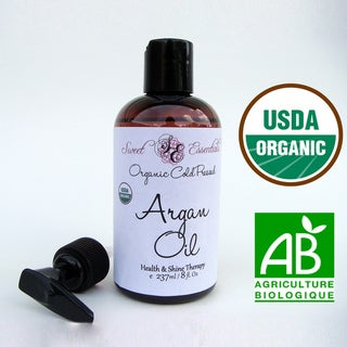 USDA Certified 100-percent Pure Organic 8-ounce Argan Oil