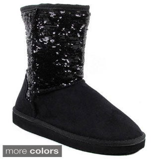 I-Comfort Women's Cupcake 90 Classic Sparkle Boots