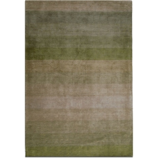 Jovi Home Nostalgia Hand-tufted Green Rug (8' x 11')