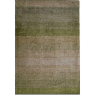 Jovi Home Nostalgia Hand-tufted Green Rug (5' x 8')