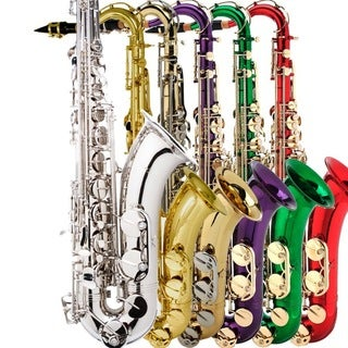 B-Flat Tenor Color Saxophone