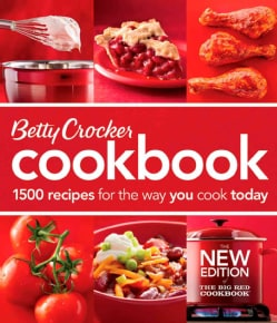 Betty Crocker Cookbook: 1500 Recipes for the Way You Cook Today: The Big Red Cookbook (Paperback)