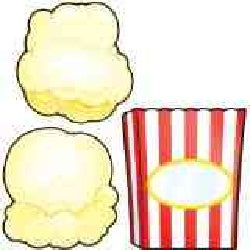 Cut-Out Buddies Popcorn and Boxes (Paperback)