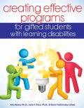 Creating Effective Programs for Gifted Students With Learning Disabilities (Paperback)