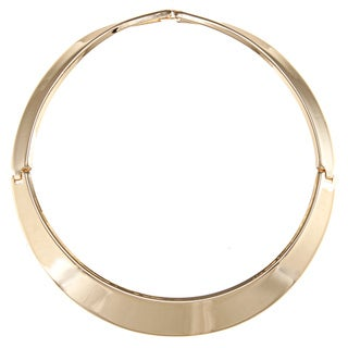 Alexa Starr Goldtone Hinged Collar Necklace