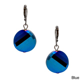 Alexa Starr Faceted Glass Chip Earrings