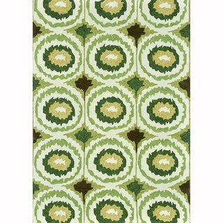 Hand-tufted Portia Lime Rug (7'6 x 9'6)