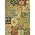 Hand-tufted Knightley Multi-color Wool Rug