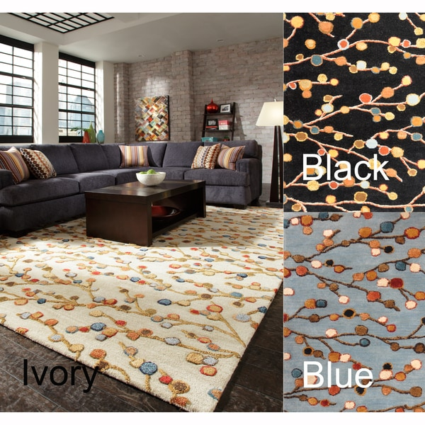 Hand-tufted Fawkes Wool Rug (3'6 x 5'6)
