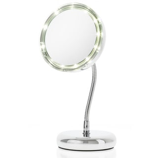 Danielle LED Goose-neck Travel Mirror