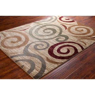 Mita Tan Geometric Rug