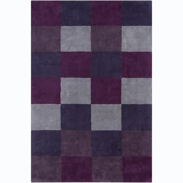 Mandara Hand-tufted Geometric Wool Rug (4' x 6')