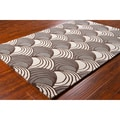 Mandara Hand-Tufted Abstract Wool Area Rug (5' x 7'6)