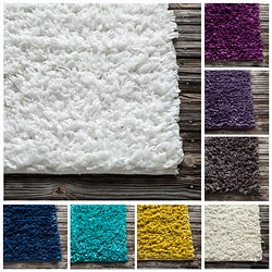 Mandara Hand-woven Shag Rug (Set of 2) (1'8 x 2'6)