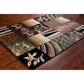 Mita Transitional Floral Area Rug